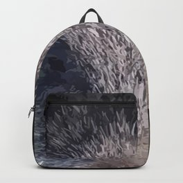 Crazy As A Peach Orchard Boar Vector Backpack