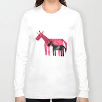 mom Long Sleeve T-shirts featuring Thanks Mom by That's So Unicorny