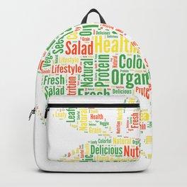 Vegan Cloud Veggie Vegetarian Organic Gift Backpack