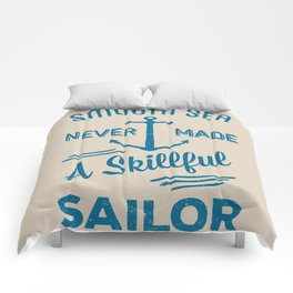 Smooth Sailing Comforters