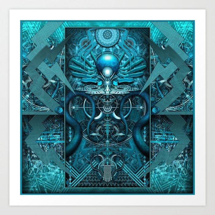 Cosmic Generator (Prime) Art Print