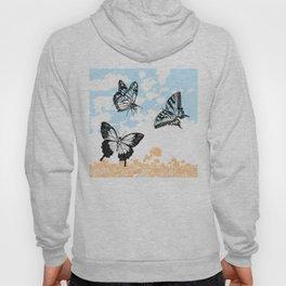 Butterflies print Hoody