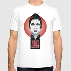 Noel Gallagher Mens Fitted Tee White MEDIUM