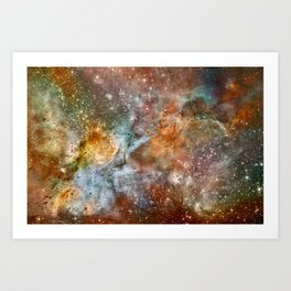 Acrylic Multiverse Art Print