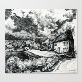 Guest House  Canvas Print