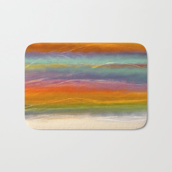 Beautiful Mountains Abstract Landscape 16 Bath Mat