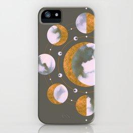 Lunar Dark iPhone Case