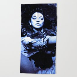 Kate Bush - The Ninth Wave - Pop Art Beach Towel
