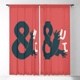 You and I, Ampersand Blackout Curtain
