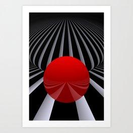 opart imaginary -3- Art Print