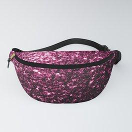 Beautiful Dark Pink glitter sparkles Fanny Pack