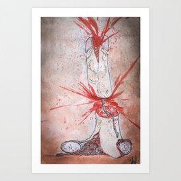 Composition V Art Print