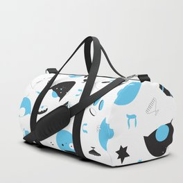 Hannukats White Duffle Bag