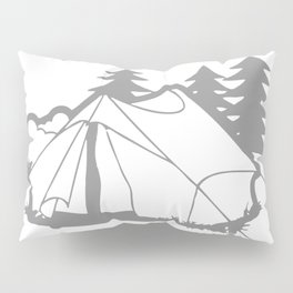 Camping Is In Tents Pillow Sham