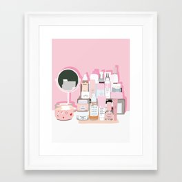 Sort of Obsessed Top Shelf Framed Art Print