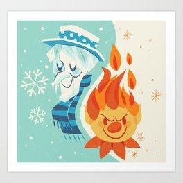 Christmas Nostalgia Art Print