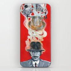 Monkey Hatter iPhone & iPod Skin
