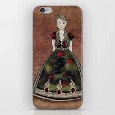 La Señora de las Flores iPhone & iPod Skin