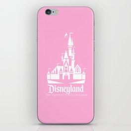 Disneyland - Pink iPhone Skin