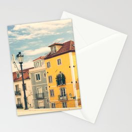 Porugal - summer street view Stationery Cards