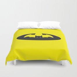 Training to be bat-man (plain) Duvet Cover