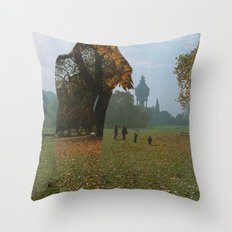 Diminished Expectations Throw Pillow