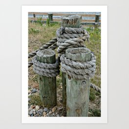 Tightly Secured Art Print