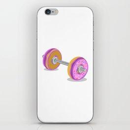 Donut Weight Artwork iPhone Skin