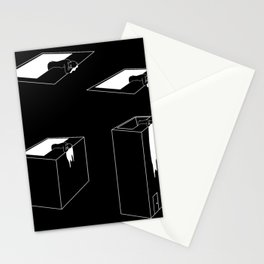 The exit (story in 4 acts) Stationery Cards