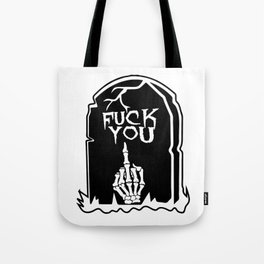 Mean Grave Tote Bag