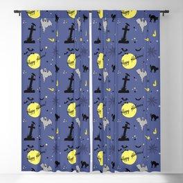 Halloween symbols Blackout Curtain