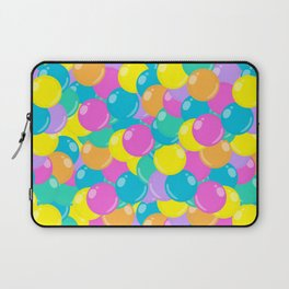 Pastel Rainbow Round Candy – Ball Pit Laptop Sleeve