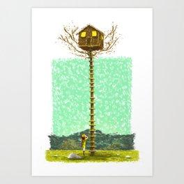 MOONRISE KINGDOM Painting Poster | PRINTS | #M45 Art Print