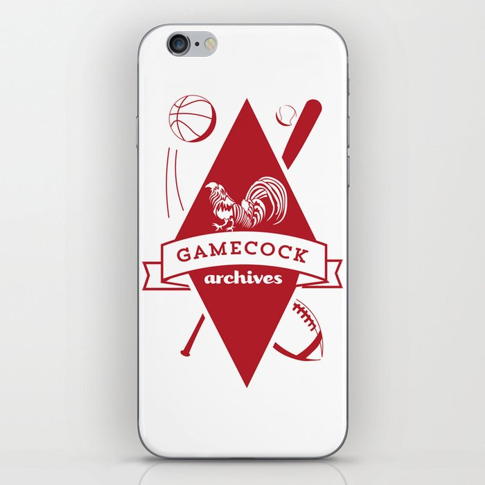 Gamecock Archives Primary Logo iPhone Skin