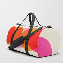 Abstraction_COLOUR_CIRCLES_001 Duffle Bag