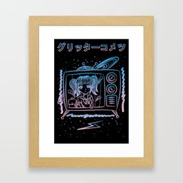 Intergalactic Schoolgirl Framed Art Print