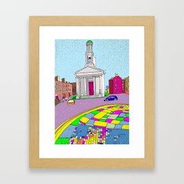 Pepper Canister, Dublin, Ireland Framed Art Print