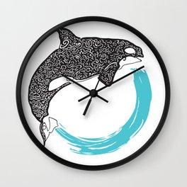 Orca Circle Wall Clock