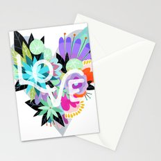 Love Blooms - Rainbow Stationery Cards