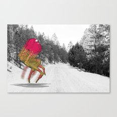Unseen Monsters of Mount Shasta - Peawil Mousec Canvas Print