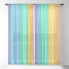 Rainbow Sheer Curtain