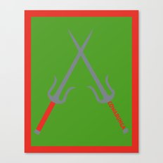 Cowabunga (Raphael Version) Canvas Print