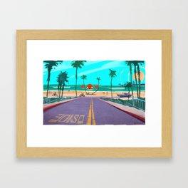 Oside Framed Art Print