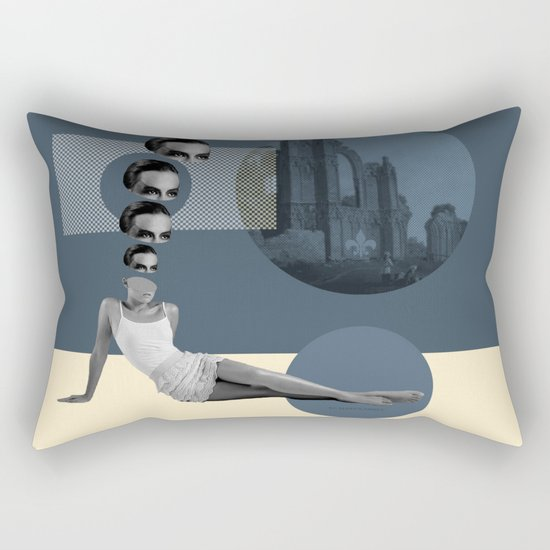 rooker's nun Rectangular Pillow