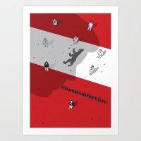 political Art Prints featuring Historical Political Figure by Pier Antonio Zanini
