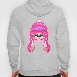Team Pink Splatoon Pattern Hoody