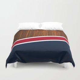 Wooden New England Duvet Cover