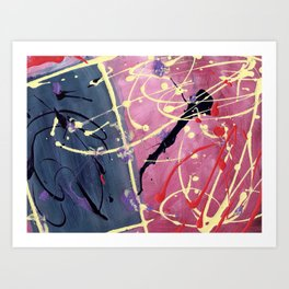 Fantasy Abstracts Art Print