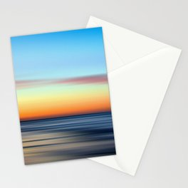 Abstract Seascape 11 Stationery Cards