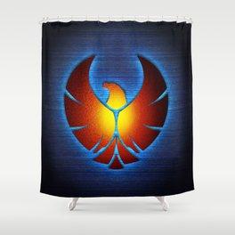 Iron Thunderbird Shower Curtain